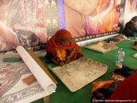 Artist of Madhubani painting in Bihar
