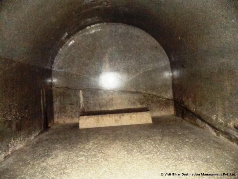 Inner Side of Barabar Cave