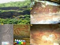 Kaimur Rock painting - Visit Bihar