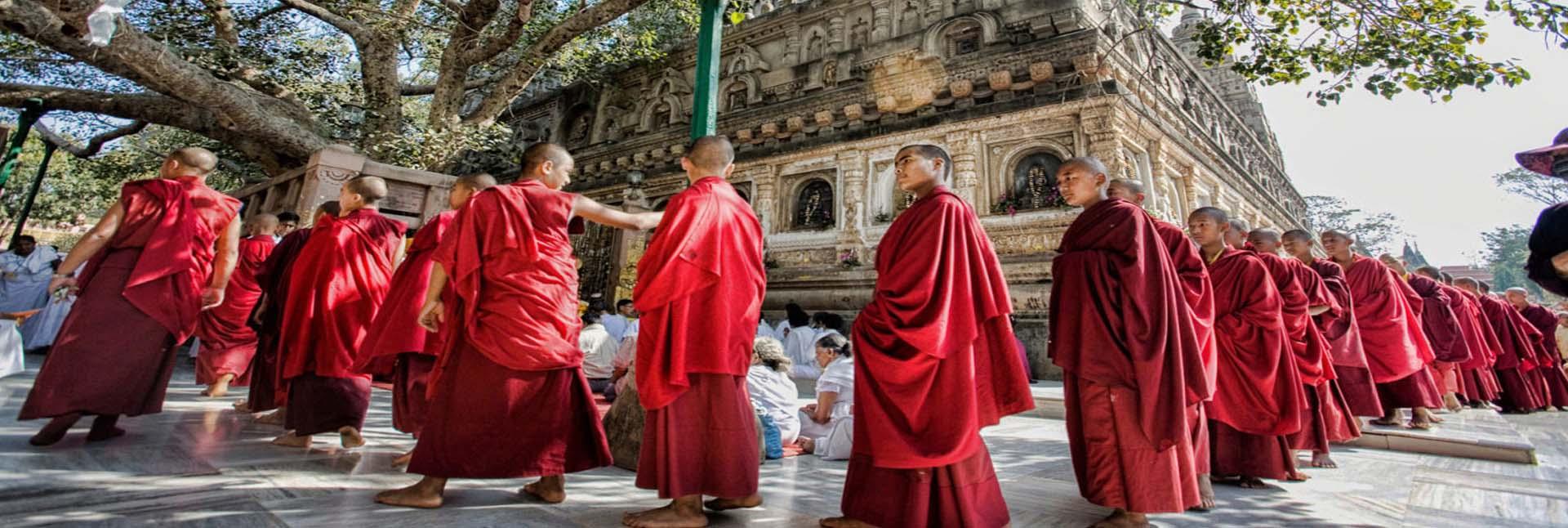 Buddhist Pilgrimage Tour – 8N & 9D, Ex- Delhi